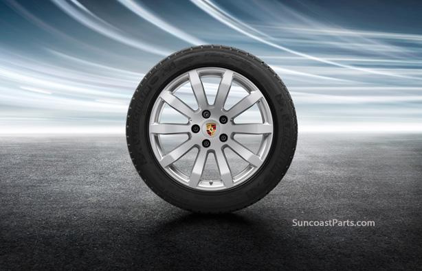 Suncoast Porsche Parts Accessories 19 Inch Cayenne S Winter Wheel Set