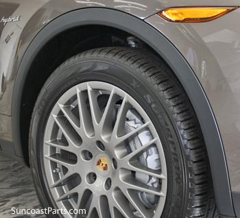 suncoast porsche parts accessories replacement wheel arch trim