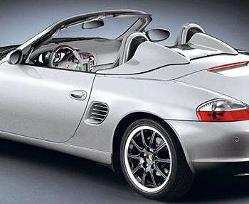 Porsche 986 Boxster 1997-2004 Side Mesh Wind Deflector Left 9865615830001 BX
