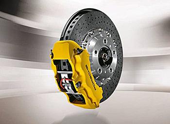 Porsche Ceramic Brake Kit Panamera Turbo