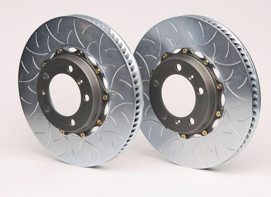 AutoShack BRKPKG0913 Rear Brake Rotors Calipers and Ceramic Pads