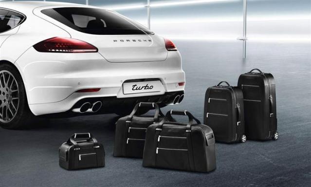 Panamera Leather Luggage Set : Suncoast