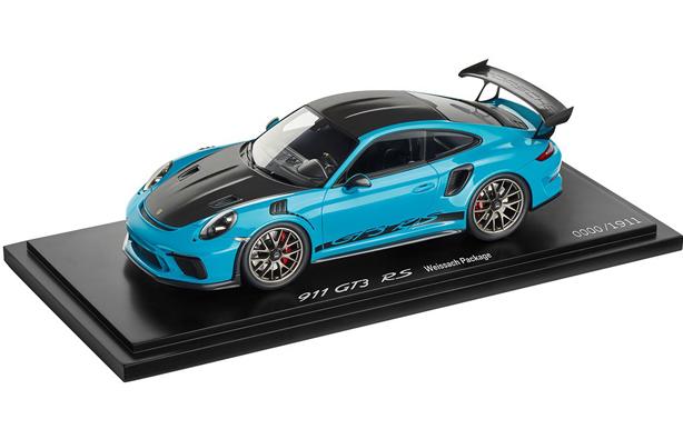 1 18 Gt3 Rs In Miami Blue Suncoast Porsche Parts Accessories