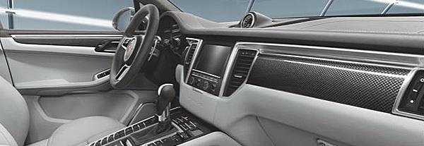 Suncoast Porsche Parts Accessories Carbon Fiber Dash Door Trim Kit