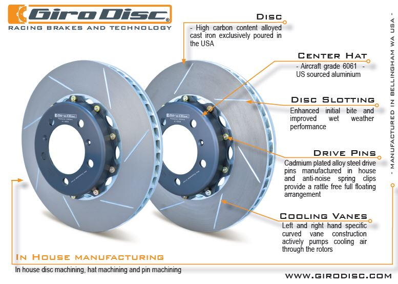 suncoast porsche parts accessories girodisc performance rotors rh suncoastparts com