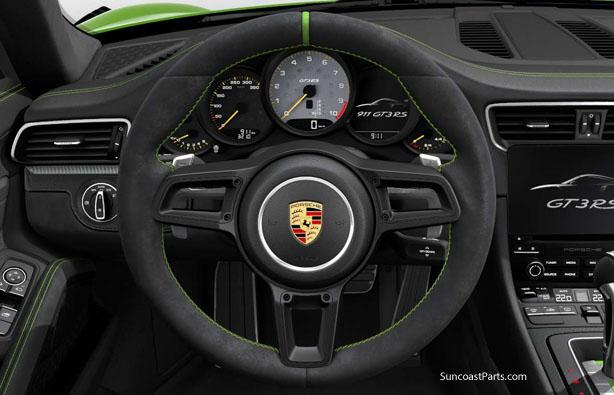 Suncoast Porsche Parts & Accessories GT3 RS Steering Wheel