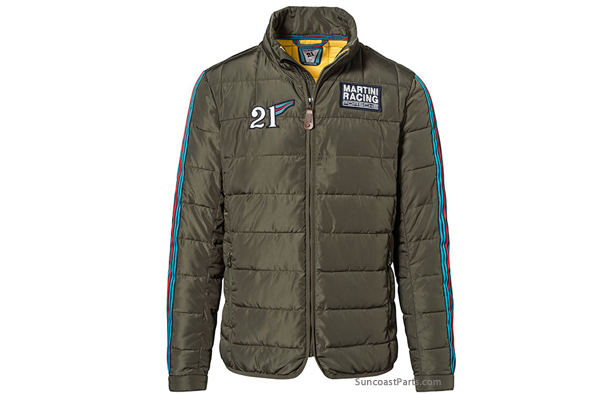 Suncoast Porsche Parts & Accessories Martini Racing Quilted Jacket : quilted racing jacket - Adamdwight.com