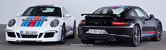 Suncoast Porsche Parts & Accessories Martini Racing Design