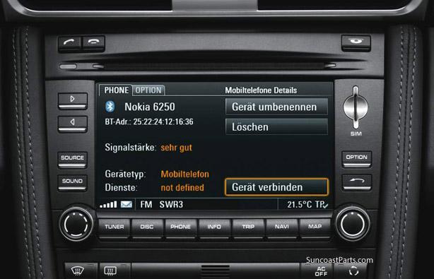 Suncoast Porsche Parts & Accessories PCM 3 0 Bluetooth Kit
