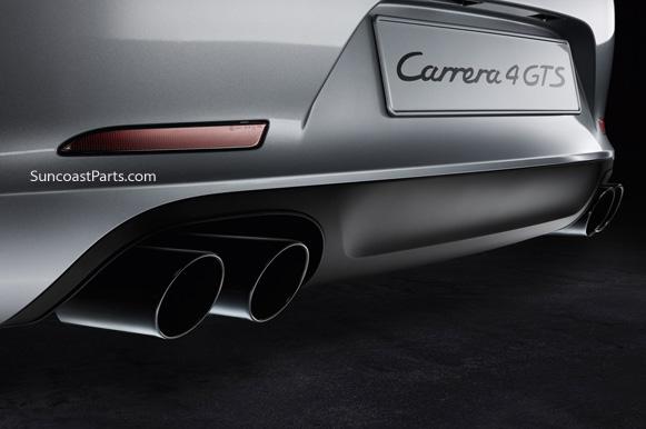 Black Exhaust Tips: Porsche 911 Sport Exhaust At Woreks.co