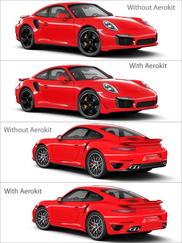 Suncoast Porsche Parts Accessories Turbo Aerokit 991