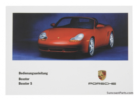suncoast porsche parts accessories porsche owners manual boxster rh suncoastparts com 1997 Porsche Boxster Problems 1997 Porsche Boxster Parts
