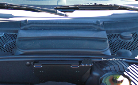 Suncoast Porsche Parts Accessories Hood Battery Cover