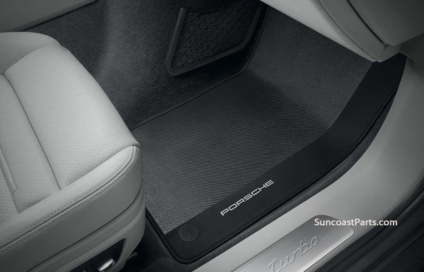 suncoast porsche parts accessories macan carbon fiber floor mats rh suncoastparts com