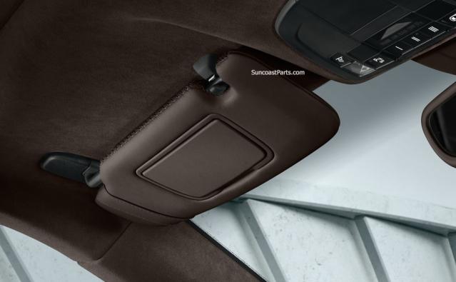Suncoast Porsche Parts   Accessories Leather Sunvisors - Boxster 11972081e65