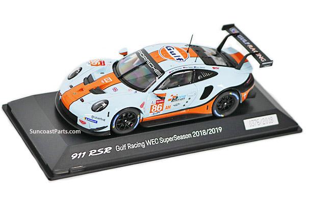 1 43 911 Gt3 Rsr Gulf Racing Suncoast Porsche Parts Accessories