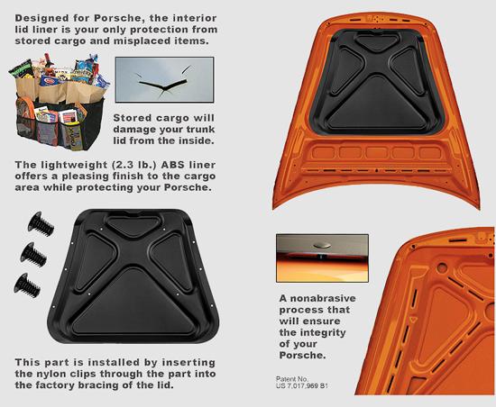 Porsche Cayman Hood Protector