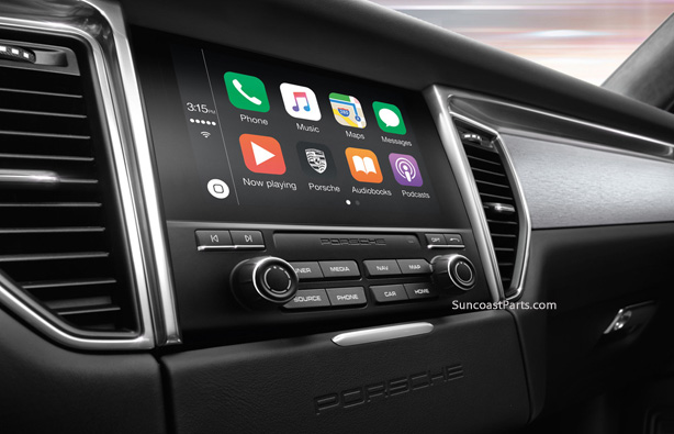 Suncoast Porsche Parts & Accessories Apple CarPlay - Macan 2017+