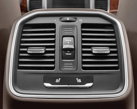 Suncoast Porsche Parts Accessories Rear Console Vent Upgrade