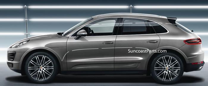 Suncoast Porsche Parts Accessories Macan 21 Turbo Design Wheel Set