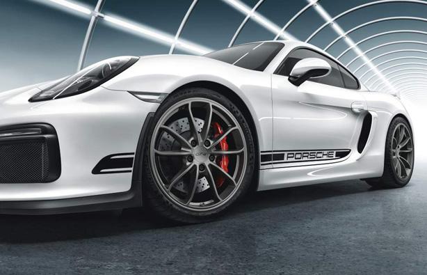 Suncoast Porsche Parts & Accessories Motorsport GT4 Side Stripes