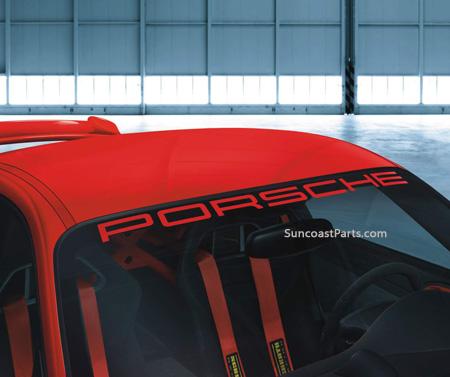 Fs Factory Porsche Windshield Decal Brand New Sealed